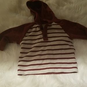 Stripped toddler hoodie